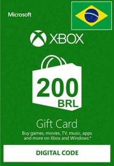 Xbox Live Gift Card - 200 BRL
