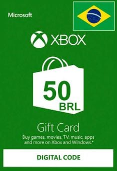 Xbox Live Gift Card - 50 BRL