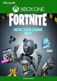 Fortnite - Metal Team Leader Pack Xbox One (US)