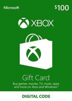 Xbox Gift Card - 100 USD