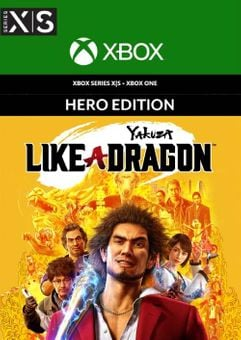 Yakuza: Like a Dragon Hero Edition Xbox One/Xbox Series X|S (EU)