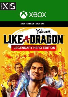 Yakuza: Like a Dragon Legendary Hero Edition  Xbox One/Xbox Series X|S (UK)