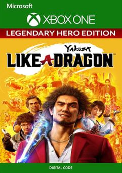 Yakuza: Like a Dragon Legendary Hero Edition Xbox One (US)