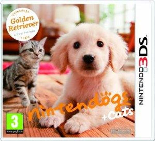 Nintendogs + Cats - Golden Retriever + New Friends 3DS