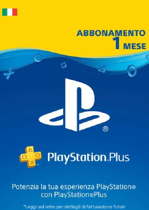 Playstation Plus - 1 Month Subscription (Italy)
