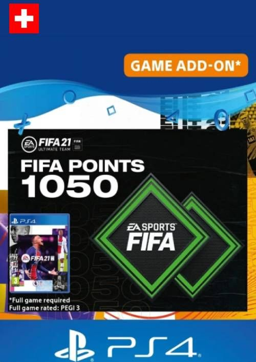 FIFA 21 Ultimate Team 1050 Points Pack PS4/PS5 (Switzerland)