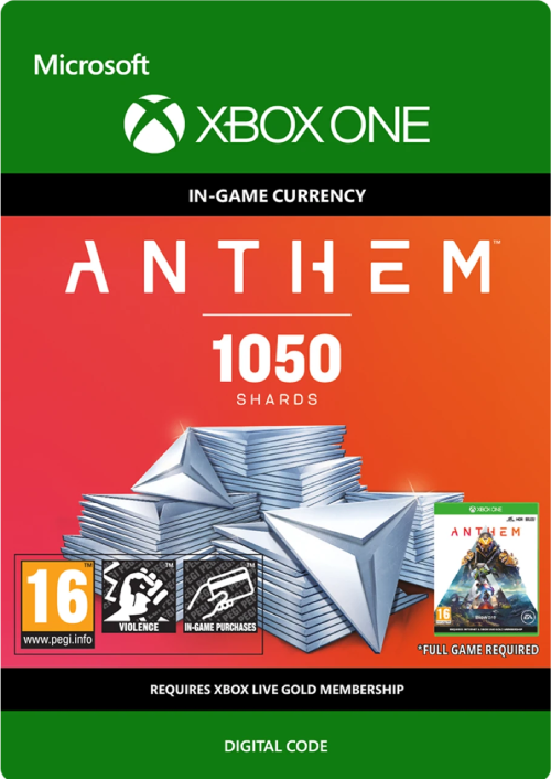 Anthem 1050 Shards Pack Xbox One