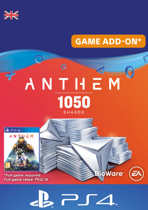 Anthem 1050 Shards PS4 (UK)