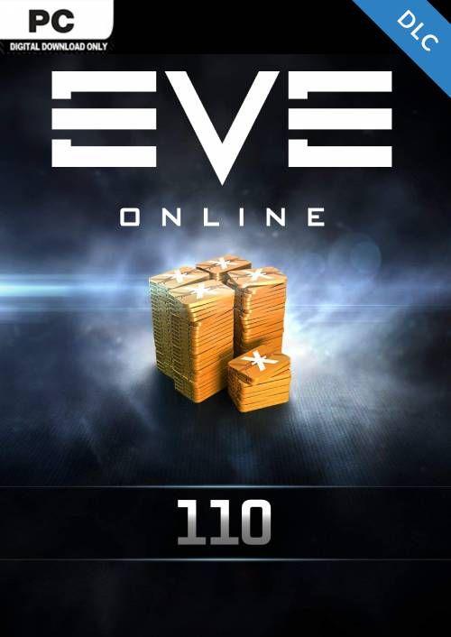 EVE Online - 110 Plex Card PC