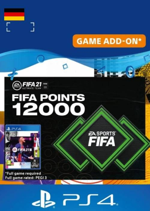 FIFA 21 Ultimate Team 12000 Points Pack PS4/PS5 (Germany)