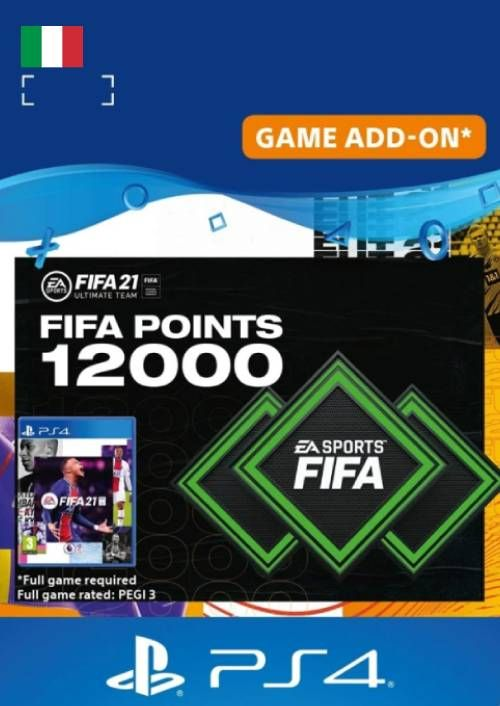 FIFA 21 Ultimate Team 12000 Points Pack PS4/PS5 (Italy)