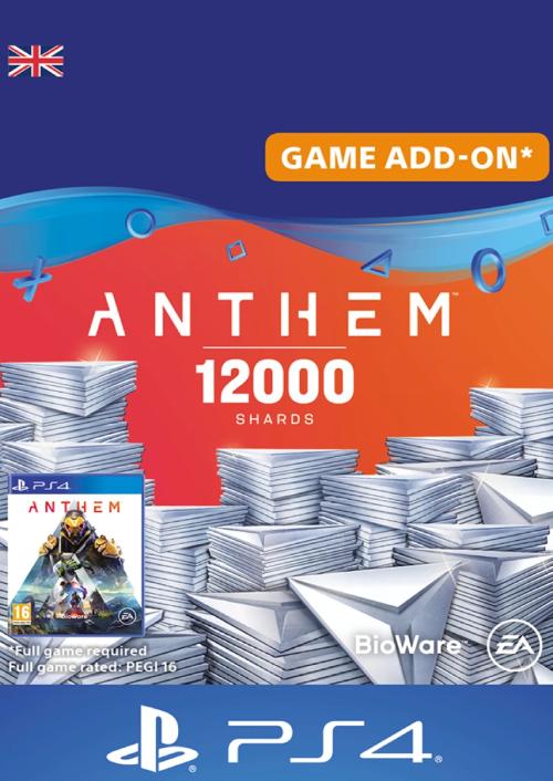Anthem 12000 Shards PS4 (UK)