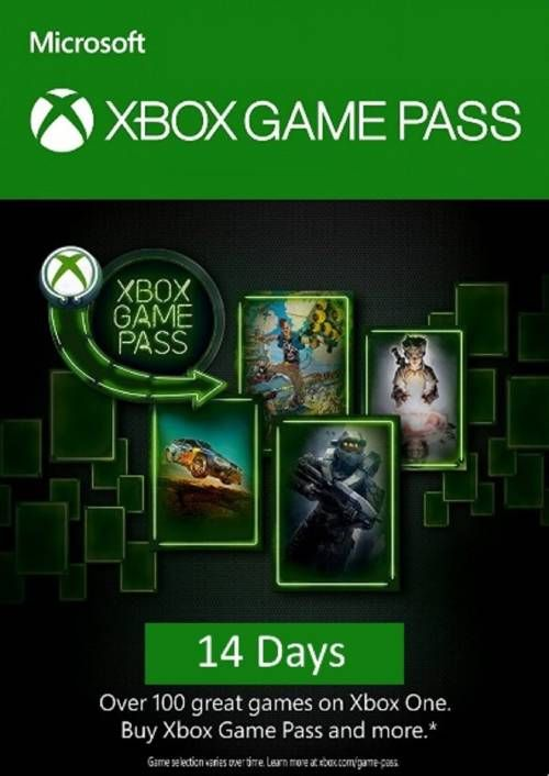 14 Tage Xbox Game Pass Xbox One