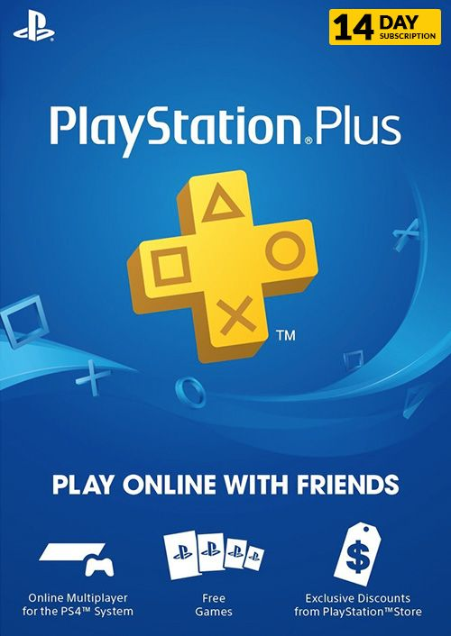 PlayStation Plus (PS ) - 14 Day Trial Subscription (UK)