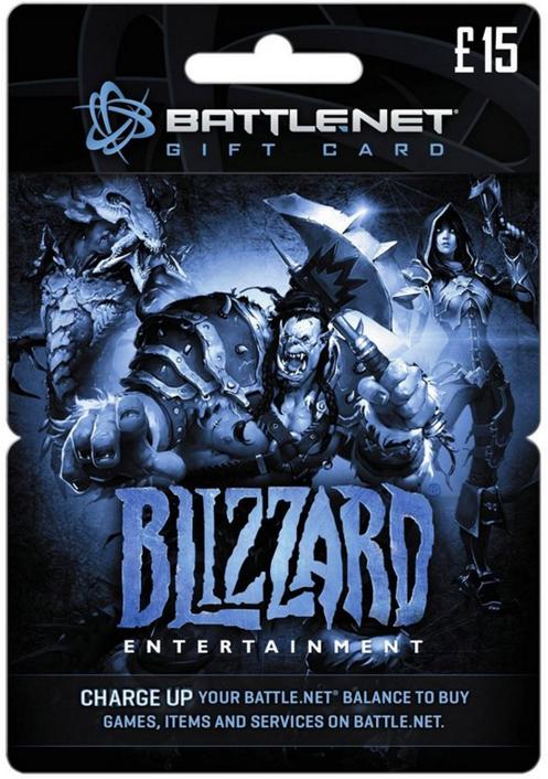 Battlenet 15 GBP Gift Card