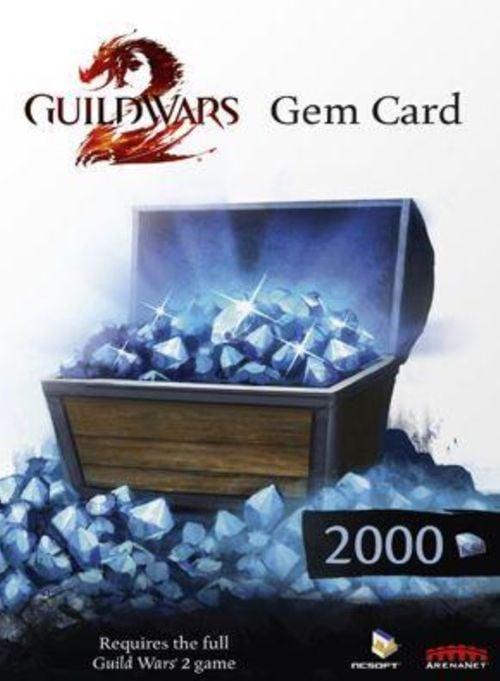 Guild Wars 2 Gem Card 2000 (PC)