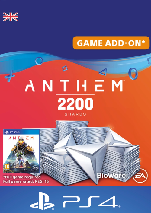 Anthem 2200 Shards PS4 (UK)