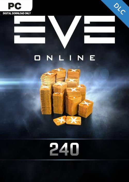 EVE Online - 240 Plex Card PC