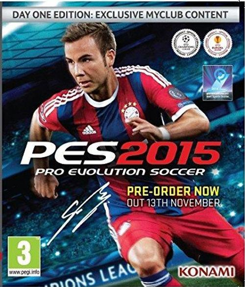 PES 2015 Day 1 Edition PC