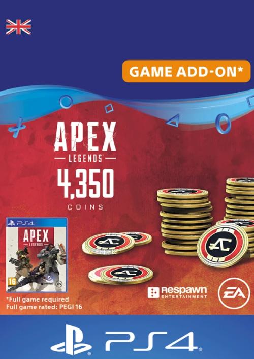 Apex Legends 4350 Coins PS4 (UK)