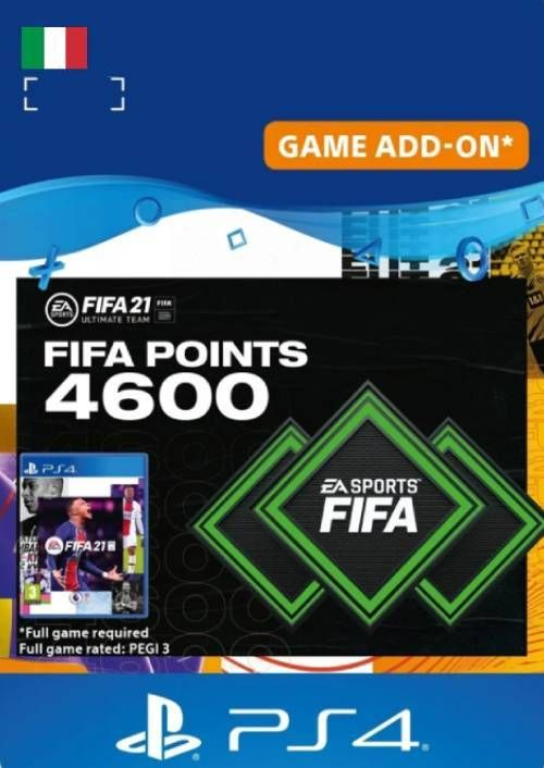 FIFA 21 Ultimate Team 4600 Points Pack PS4/PS5 (Italy)
