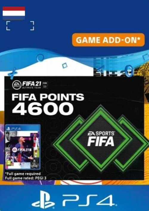 FIFA 21 Ultimate Team 4600 Points Pack PS4/PS5 (Netherlands)