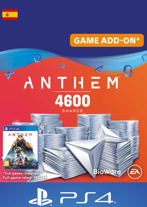 Anthem 4600 Shards PS4 (Spain)