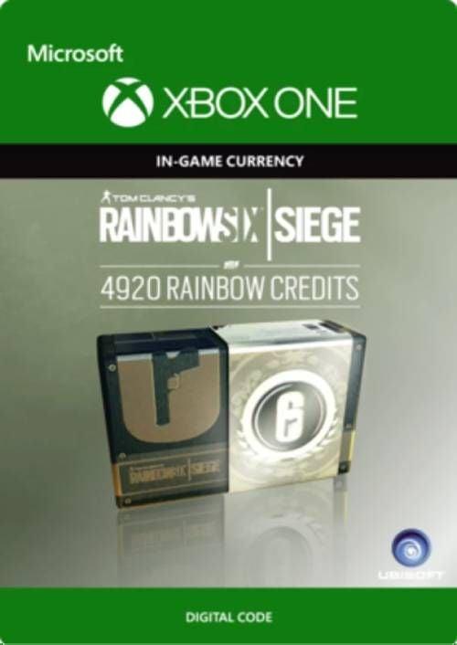 Tom Clancy's Rainbow Six Siege 4920 Credits Pack Xbox One
