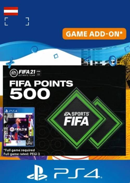 FIFA 21 Ultimate Team 500 Points Pack PS4/PS5 (Austria)