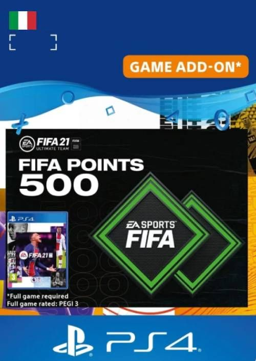 FIFA 21 Ultimate Team 500 Points Pack PS4/PS5 (Italy)