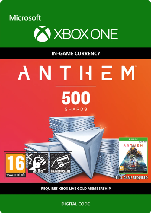Anthem 500 Shards Pack Xbox One