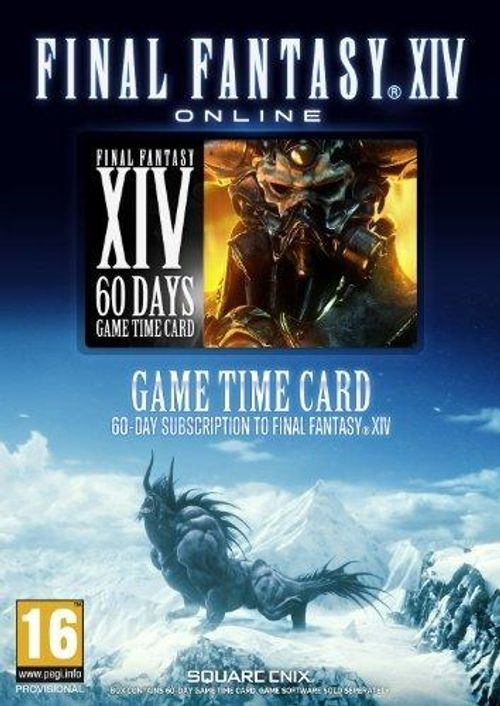 Final Fantasy XIV 14: Timecard PC