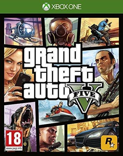 Grand Theft Auto V 5 Xbox One
