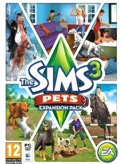 The Sims 3: Pets Expansion Pack (PC/Mac)