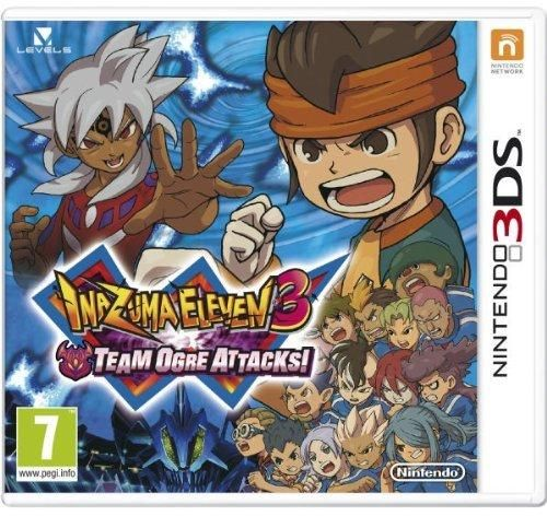 Inazuma Eleven 3 Team Ogre Attacks Game 3DS CD Key, Key