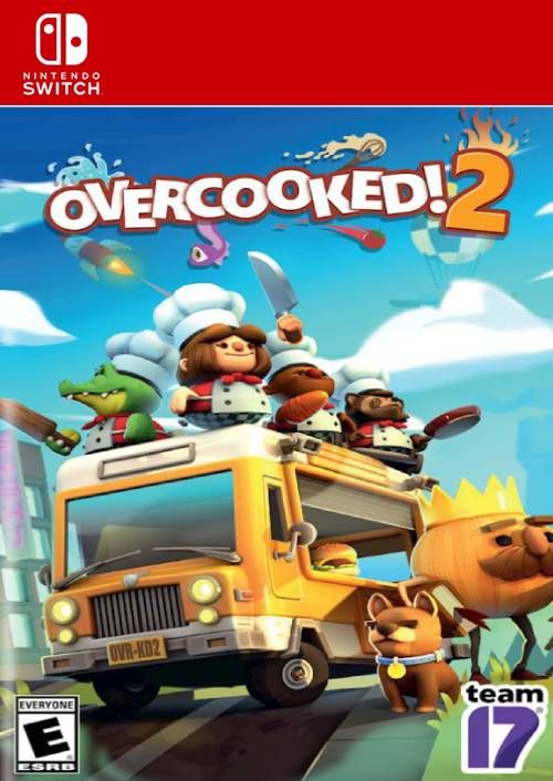 Overcooked 2 Switch