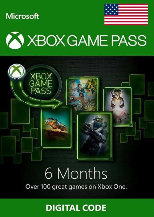 6 Month Xbox Game Pass Xbox One (USA)