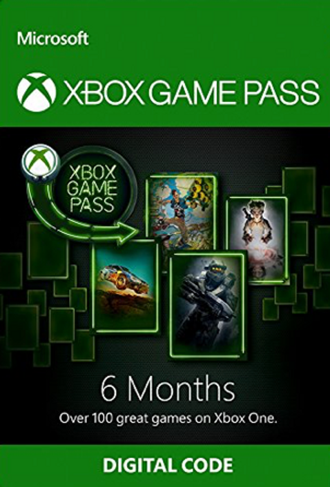 6 Month Xbox Game Pass Xbox One
