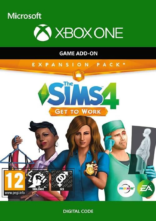 The Sims 4: Get to Work Xbox One