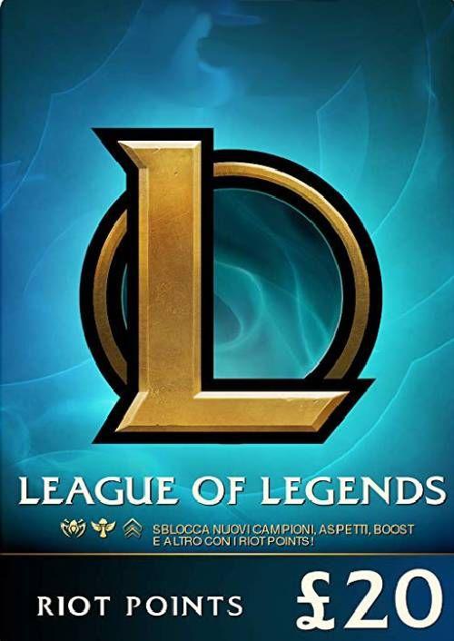 League of Legends 3080 Riot Points (EU - West)
