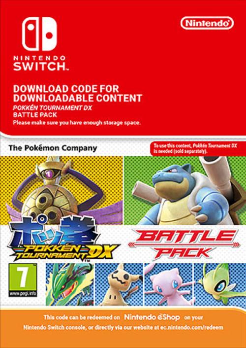 Pokken Tournament DX Battle Pack Switch