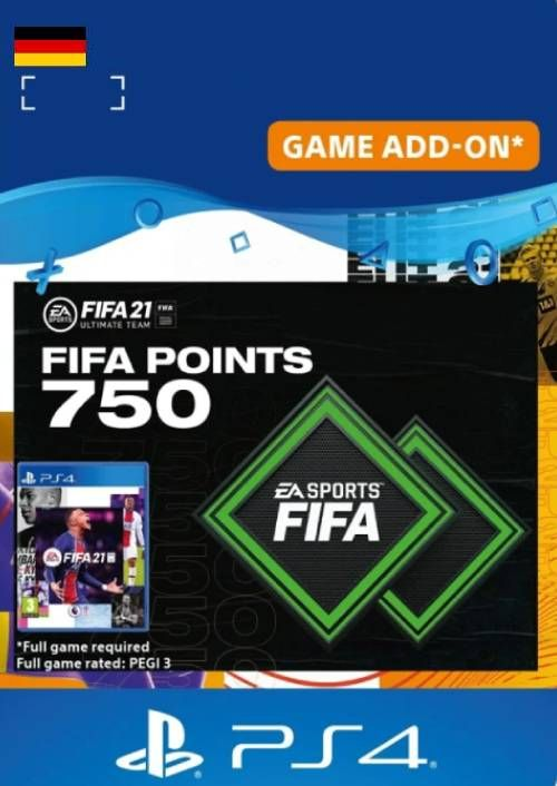 FIFA 21 Ultimate Team 750 Points Pack PS4/PS5 (Germany)