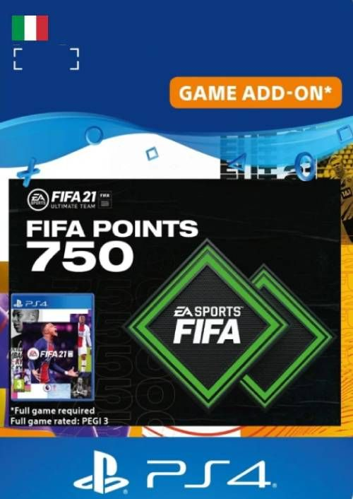 FIFA 21 Ultimate Team 750 Points Pack PS4/PS5 (Italy)