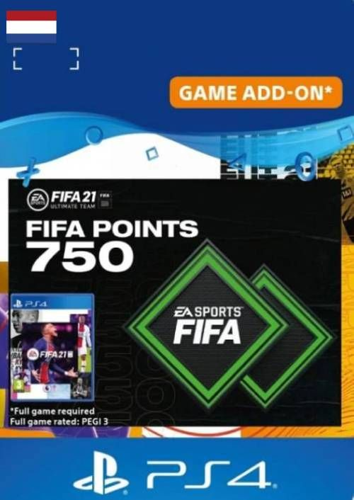 FIFA 21 Ultimate Team 750 Points Pack PS4/PS5 (Netherlands)