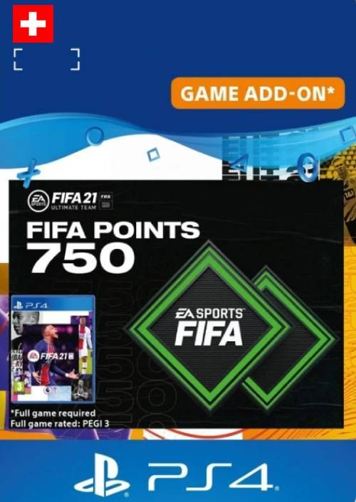 FIFA 21 Ultimate Team 750 Points Pack PS4/PS5 (Switzerland)
