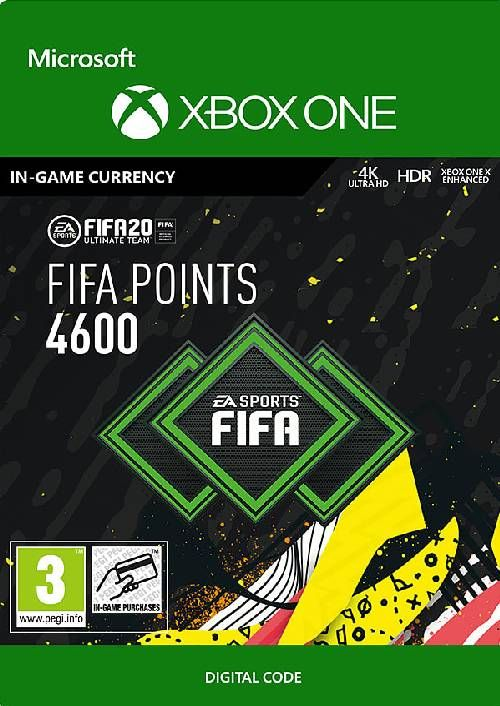 FIFA 20 - 4600 FUT Points Xbox One (WW)
