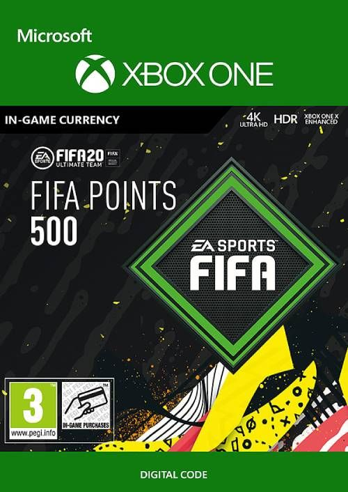 FIFA 20 - 500 FUT Points Xbox One (WW)