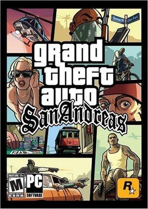 Grand Theft Auto - San Andreas Download (PC)