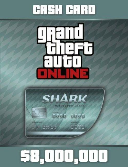 Grand Theft Auto Online (GTA V 5): Megalodon Shark Cash Card PC