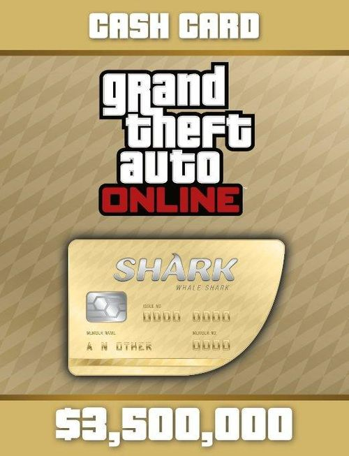 Grand Theft Auto Online: Whale Shark Cash Card PC Online Code